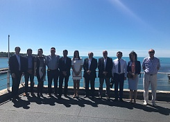 Visit of HESC Group and Argentine delegation to Gelendzhik